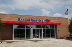 Bank of America Arkivfoton