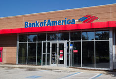 Bank of America Foto de archivo libre de regalías