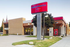 Bank of America Branch Location Royalty Free Stock Image