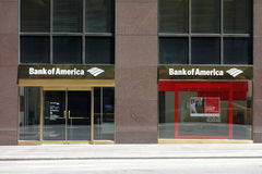 Bank of America royalty free stock photo