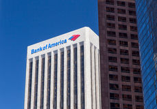 Bank of America Center in Los Angeles Stock Photography