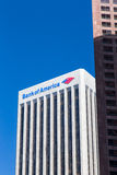 Bank of America Center in Los Angeles Royalty Free Stock Photography