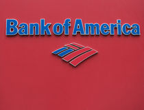 Bank of America logo Stock Photo
