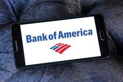 Bank of america logo Stock Image