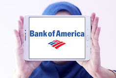 Bank of america logo Royalty Free Stock Images