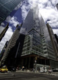 The Bank of America Tower at One Bryant Park. Is a 1,200 ft (366 m) skyscraper in the Midtown Manhattan district of New York City, in the United States. The US Royalty Free Stock Photography