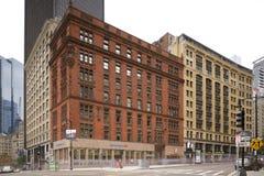Bank of Americamitt i stadens centrum Boston Royaltyfri Bild