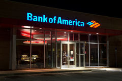 Bank of Amerika Stockfotografie