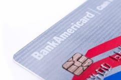 Bank of Amerika-Bargeld vergütet Kreditkarte Lizenzfreies Stockbild