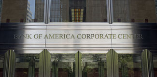 Bank of Amerika-Welt-Headquarters Stockbilder