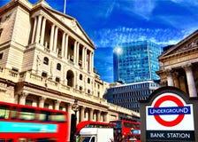 bank Anglii Obrazy Stock