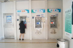 Bank ATM Royalty Free Stock Photos