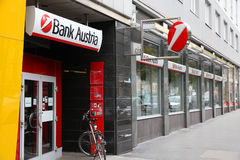 Bank Austria stock image