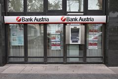 Bank Austria Royalty Free Stock Photography