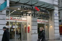 Bank Austria Creditanstalt Royalty Free Stock Images