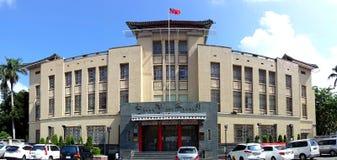 Bank av den Taiwan huvudkontoret i Kaohsiung Royaltyfria Bilder