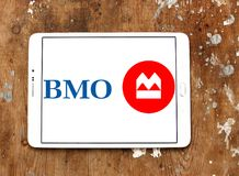 Bank av Montreal, BMO, logo Royaltyfri Foto