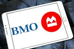Bank av Montreal, BMO, logo Fotografering för Bildbyråer