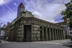 Bank av Taiwan i den Taipei staden Arkivbild