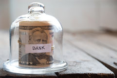 Bank background. Stock Photos