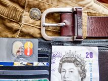 Bank, Banknote, Belt Royalty Free Stock Photography