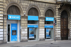bank Barclays Obrazy Stock