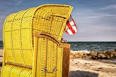 Bank, Beach, Chair Royalty Free Stock Images