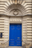 Bank Branch Entrance Royalty Free Stock Images