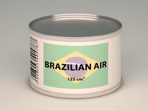 Bank of  brazilaian air Stock Photo