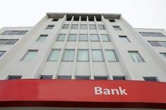 Bank Building. Detail of a bank building Stock Photos