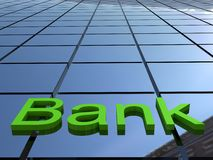 Bank building Royalty Free Stock Photo