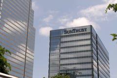 Bank Building in miami Stock Photo