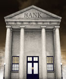 Bank Building, Money, Investing, Retirement Stock Images