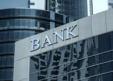 Bank building royalty free stock images