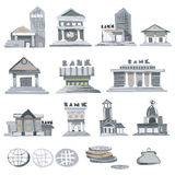 Bank Buildings. Royalty Free Stock Image