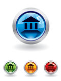 Bank button from series Stock Photo