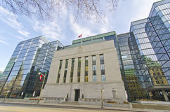 Bank of Canada, Ottawa, Canada stock photography