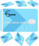 Bank card Royalty Free Stock Photography