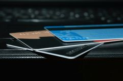 Banking product. Royalty Free Stock Photo