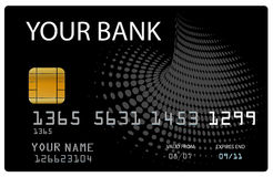 bank card credit your Στοκ εικόνα με δικαίωμα ελεύθερης χρήσης