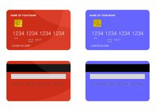 Bank card Stock Photo
