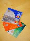 Bank cards Royalty Free Stock Image