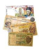 Bank of Central African States Currency Royalty Free Stock Photography