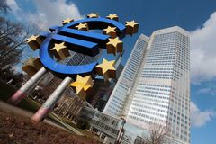 bank centrala - europejczyk Fotografia Royalty Free