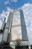 bank centrala - europejski Frankfurt Germany zdjęcie stock