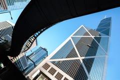 Bank of China tower, Hong Kong Stock Photography