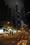 Bank of China Tower in Hong Kong Special Administr Stock Photos