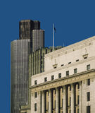 Bank city of london Royalty Free Stock Photography