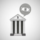 Bank concept safe money icon Stock Images