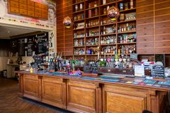 Bank Conwy pubu bar Irlandia zdjęcia stock